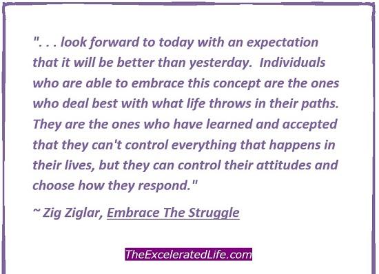 accept struggle