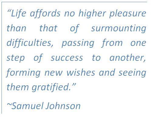 pleasure and gratification