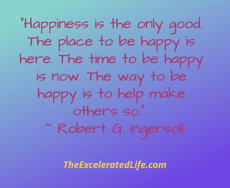 Five Ways To Feel Good