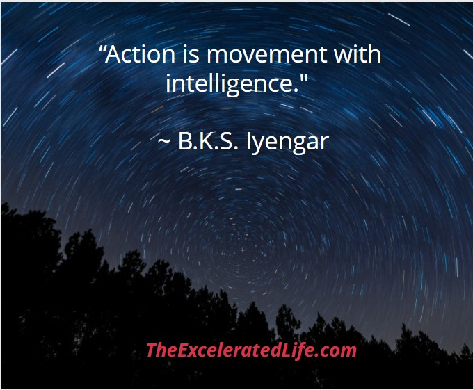 action requires movement