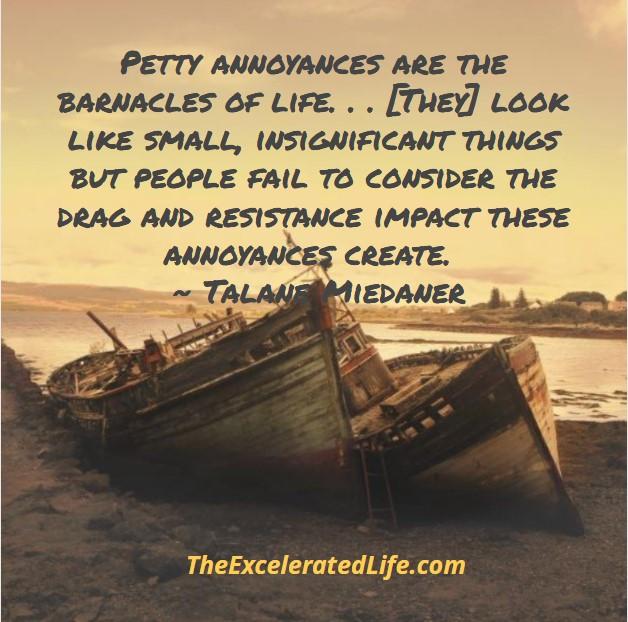 let go of annoyances