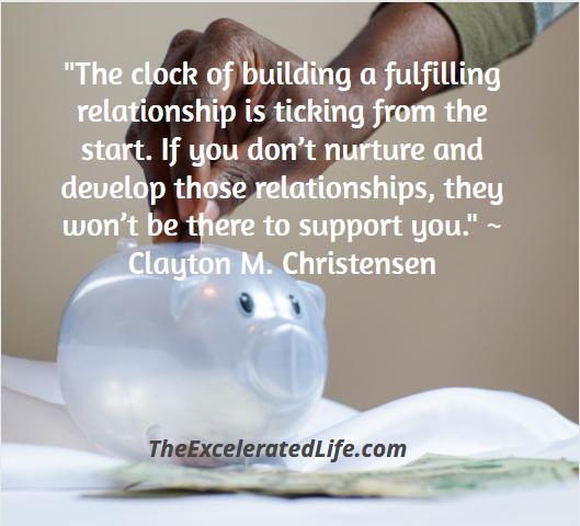 nurture your relationships